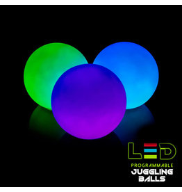 Space Whips Pro LED Juggling Orbs- SEt of 3