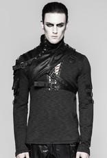 PNKR Asymmetrical Faux Leather Shoulder Harness