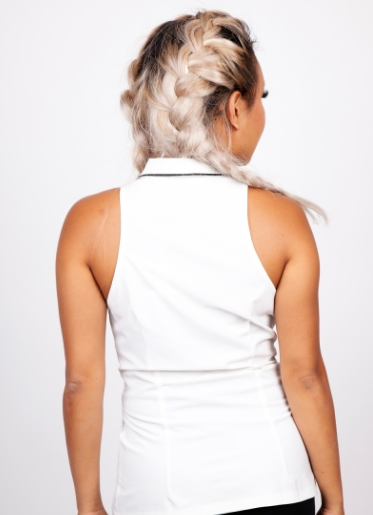 Jawbreaker Sleeveless Moonstone Blouse
