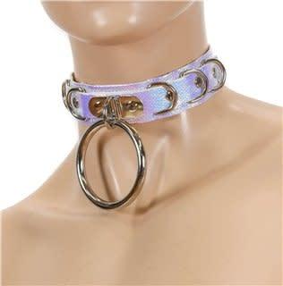 D & Drop Ring Bondage Collar
