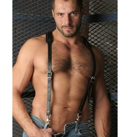 Deluxe Leather Suspenders