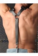 Deluxe Leather Suspenders