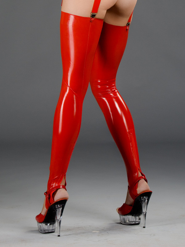 Polymorphe Latex Leg Sleeves