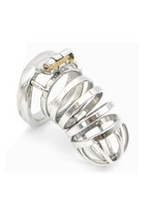 Rings of Metal Chastity Cage