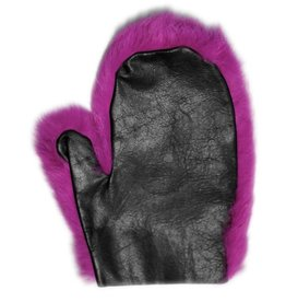 Rabbit Fur Spanking Mitt