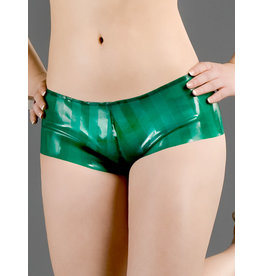 Polymorphe Striped Latex Boyshorts