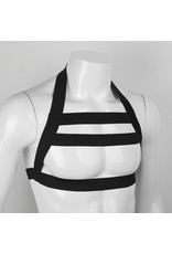 Liquid Red Double Strap Chest Harness