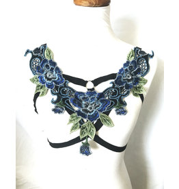 Blue Rose Bra Harness