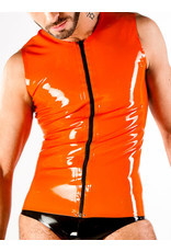 Polymorphe DP Latex Sleeveless Zip Shirt