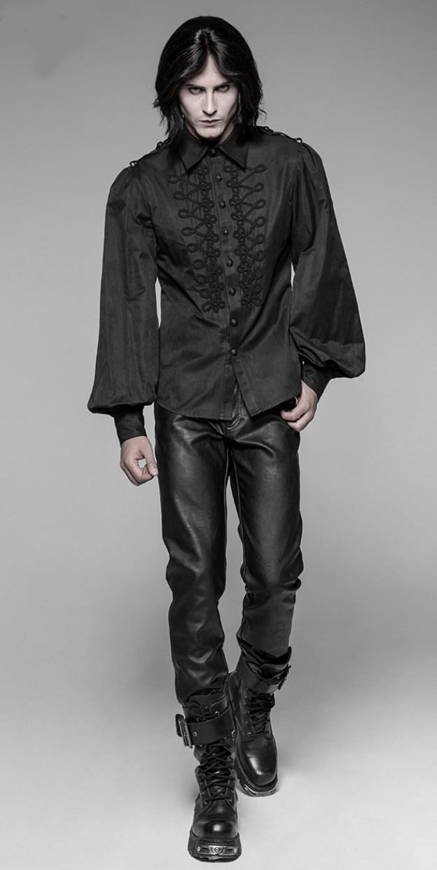 PNKR Gothic Long Puffy Sleeve Shirt