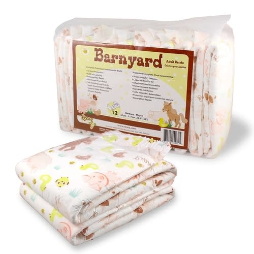 Rearz Disposables Diapers Barnyard Elite Hybrid