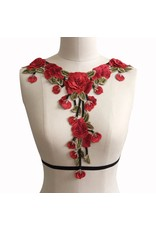 Liquid Red Rose Center Harness