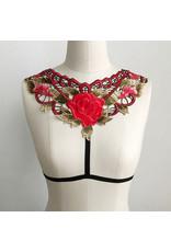 Floral Shoulder Harness