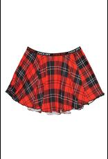 Fuck Off Plaid Skirt