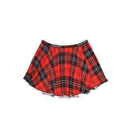 Fuck Off Plaid Skirt