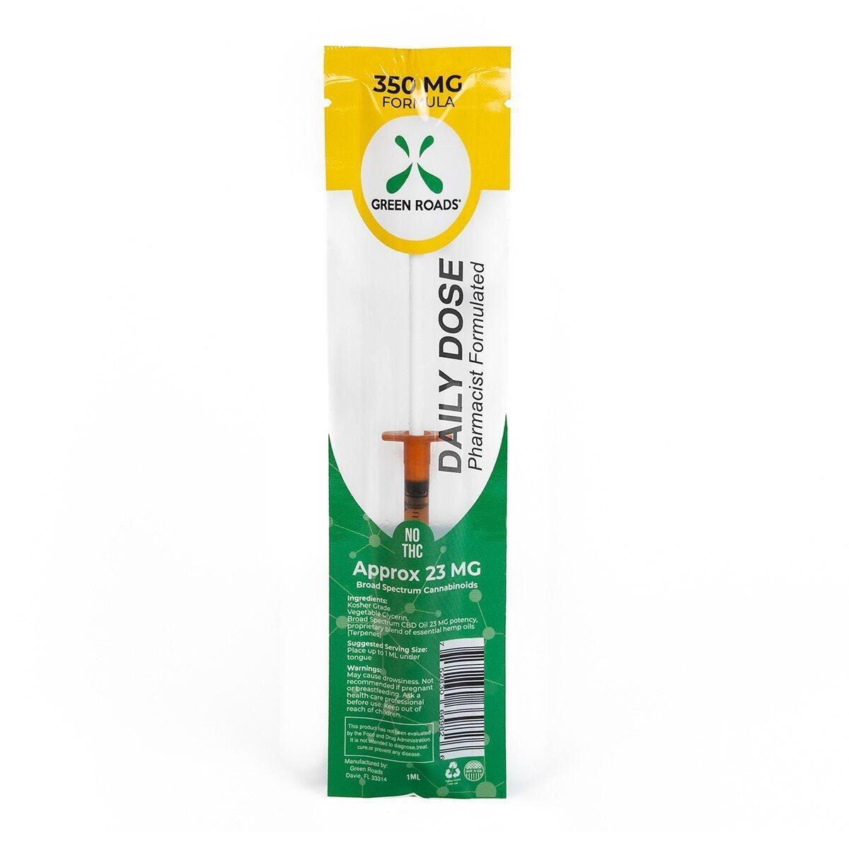 Green Roads CBD Daily Dose Syringe