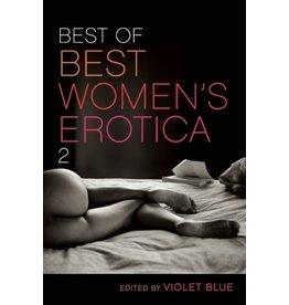 Cleis Press Best of Best Women's Erotica Violet  2 Blue  Ed