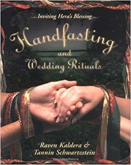 Alfred Press Handfasting and Wedding Rituals: Welcoming Hera's Blessing Raven Kaldera & Tannin Schwartzstein