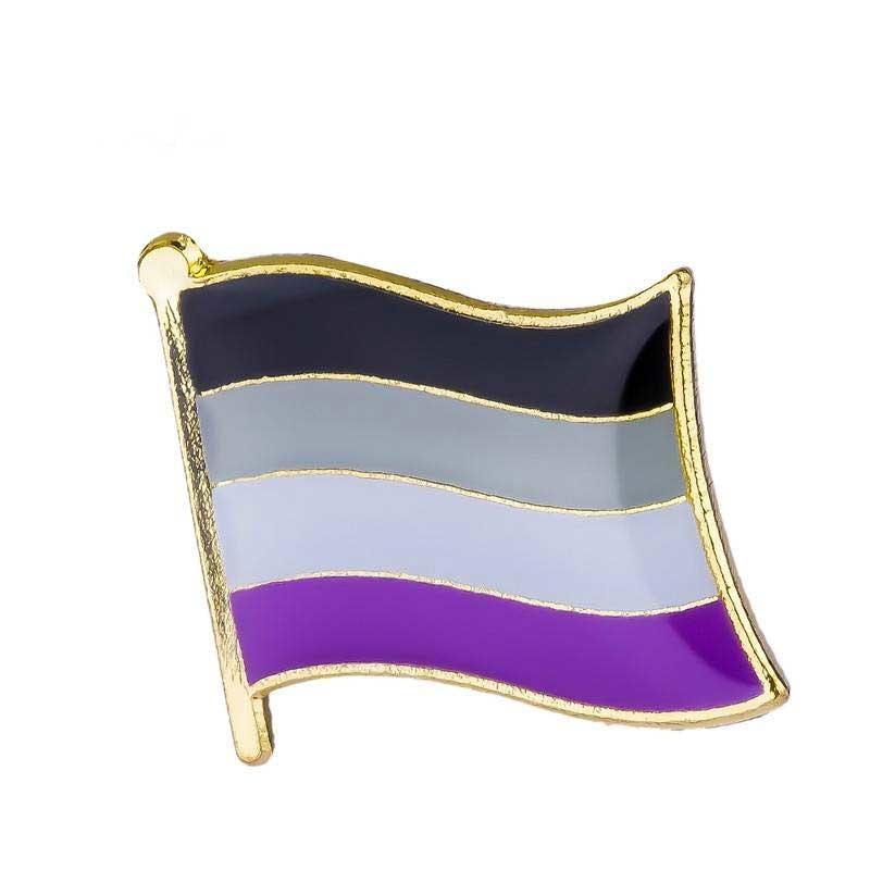 PASSIONAL Laquered Pride Flag Lapel Pin