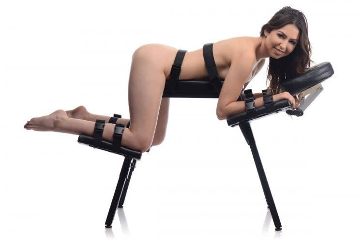 Obedience Extreme Sex Bench w/ Straps