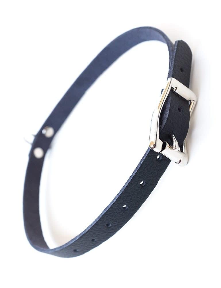 Vondage Vegan Leather Choker w/ O-Ring
