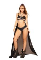 J. Valentine Shimmer Harness Skirt