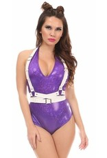 Daisy Leatherette Shoulder Strap Wrap Harness