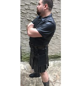 PASSIONAL Cowhide  Heritage Kilt Detachable Pocket