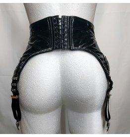 Tatjana Vinyl Garter Belt