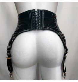 Vinyl Garter Belt