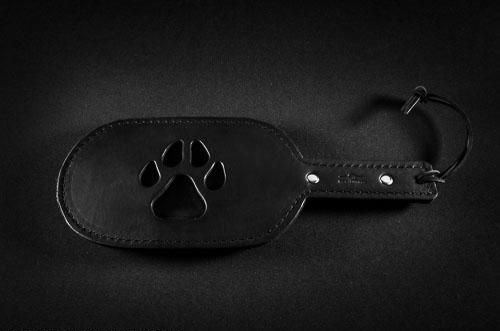 Leather Paw Paddle