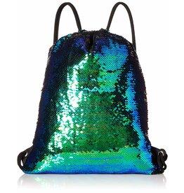 Drawstring Sequin Dancer Backpack