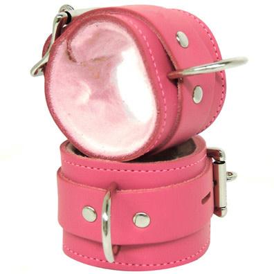 Kookie Fleece Lined D-Ring Cuffs