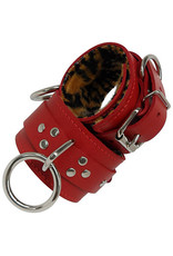 Fleece Lined Drop Ring Cuffs