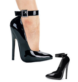 "6"" Fetish Heel with Ankle Strap"