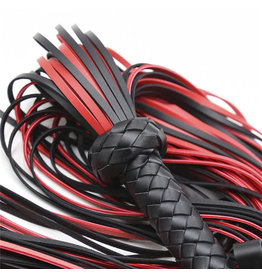 Imported Imported Red and Black Flogger