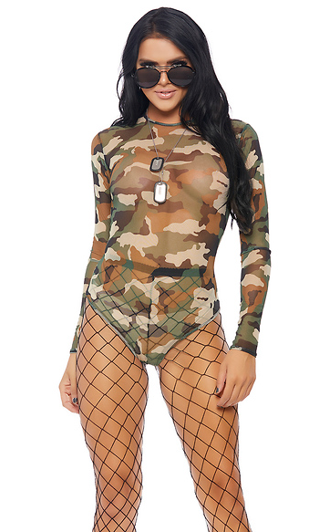 Micro Net Bodysuit