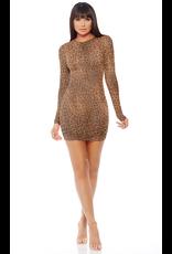 Micro Net Mini Dress