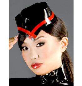 Polymorphe Marbled Latex Military Cap