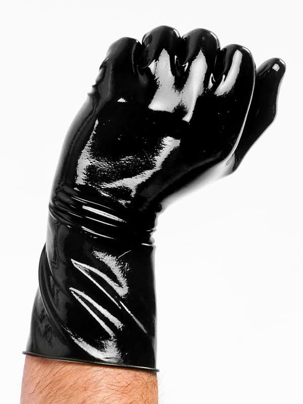 DP Latex Wrist Length Gloves