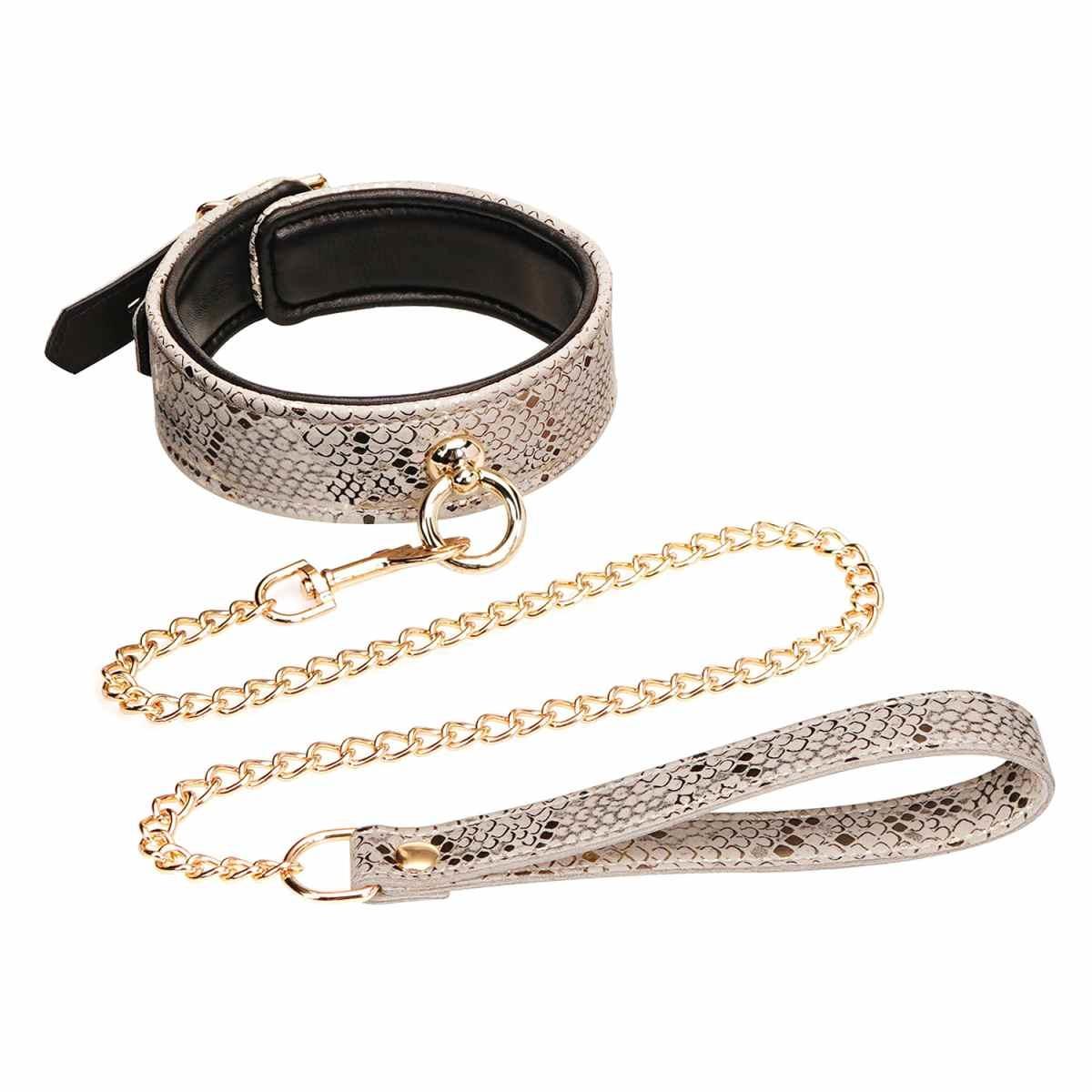 Microfiber Snake Collar and Leash