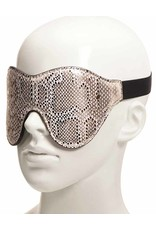 Microfiber Snake Print Blindfold