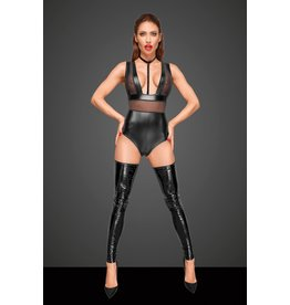 Power Wetlook Bodysuit