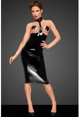 Open Cup PVC Dress