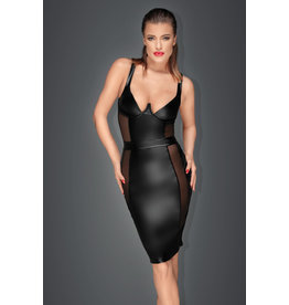 Noir Handmade Power Wetlook Pencil Dress