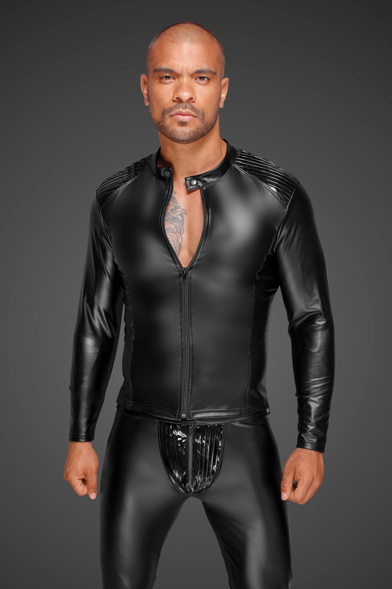 Power Wetlook and PVC Jacket