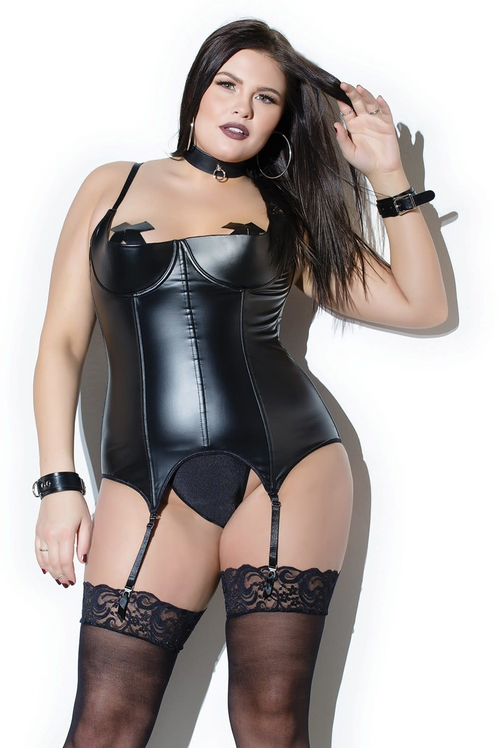 Wetlook Demi Cup Bustier