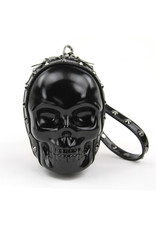 Skull Wristlet with Studs