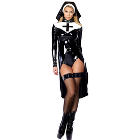 3 Piece Vinyl Nun Set