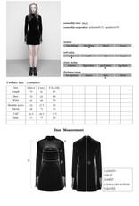 Dark Velvet and Lace Dress